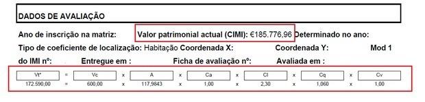 Cálculo IMI
