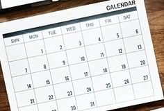 Calendário de feriados 2019 para Portugal