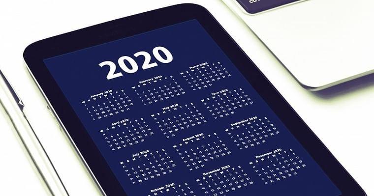 Calendario 2020 Portugues Com Feriados.Calendario De Feriados 2020 Para Portugal Economias