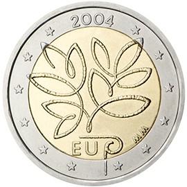 Moeda de 2 euros Finlândia 2004