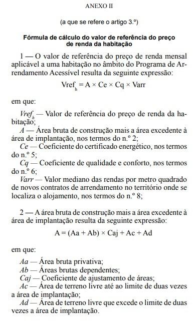 fórmula PAA