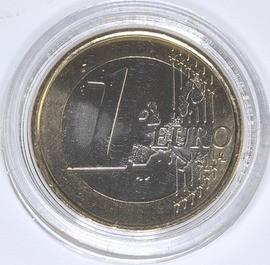 moeda de 1 euro portugal 2008