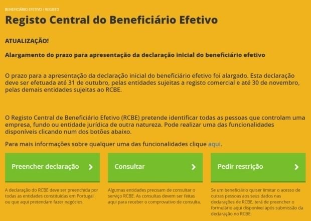 registo central beneficiario efetivo