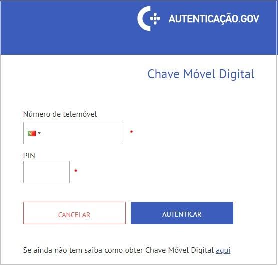 Resultado de imagem para renovar cartão de cidadão com chave móvel digital