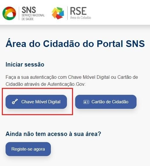 SNS chave movel